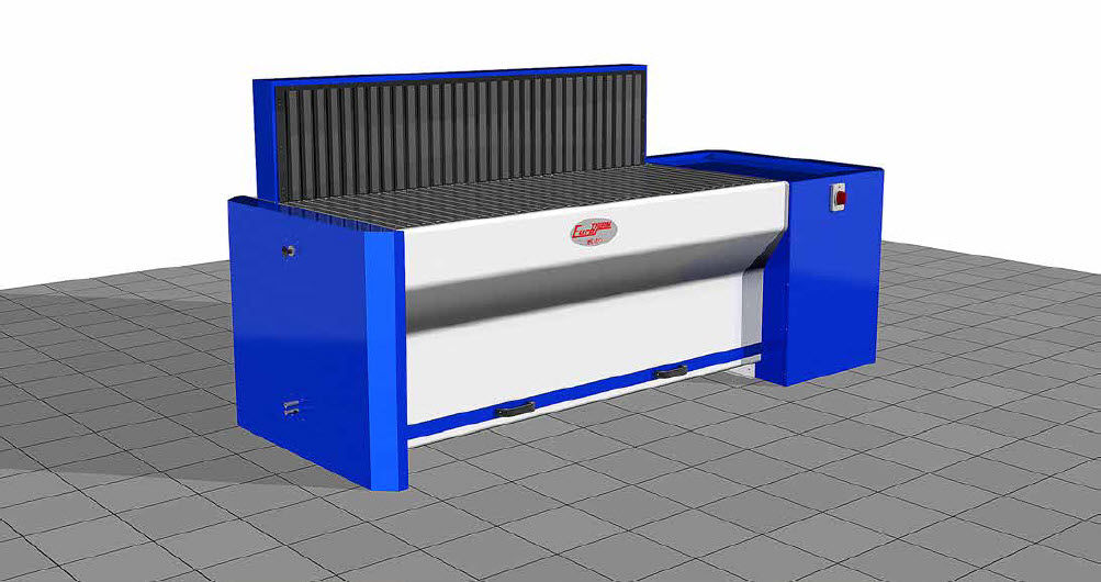 surface treatment downdraft table - euro bc series - eurotherm srl