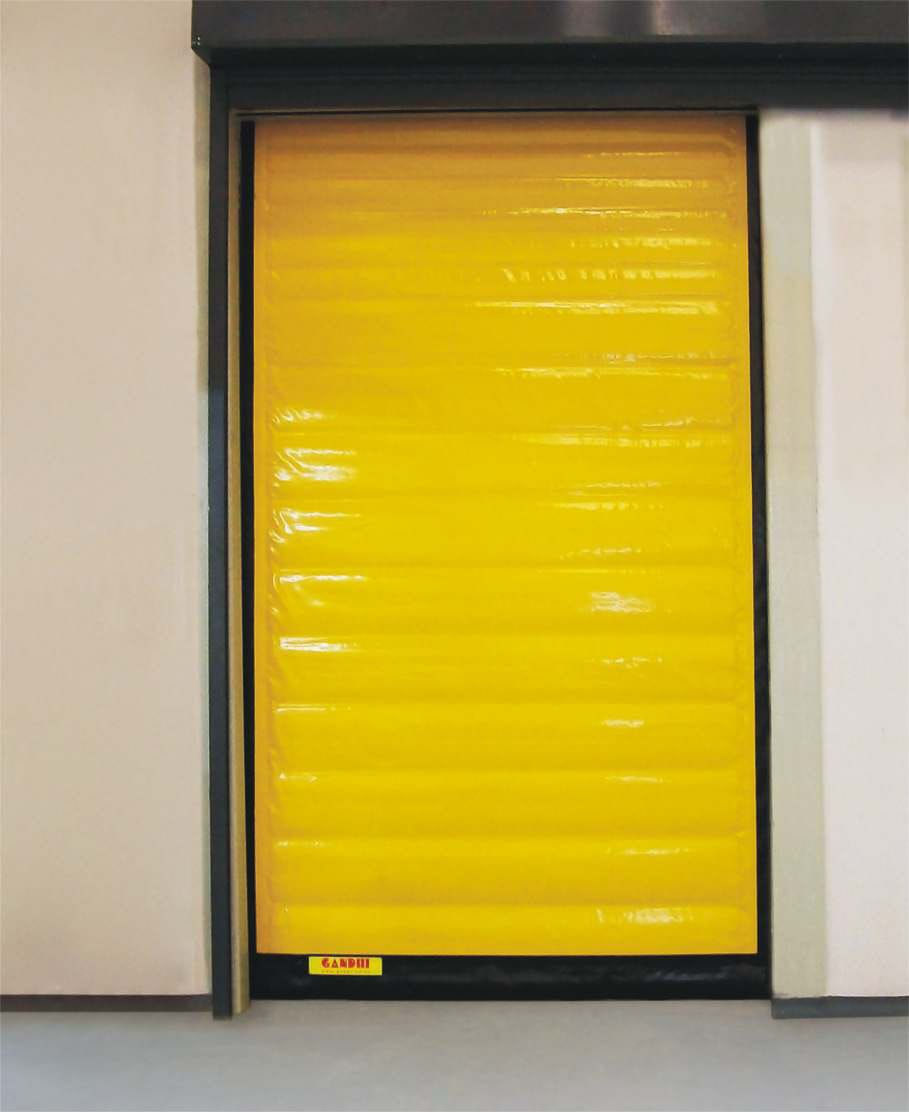 Roll Up Door Fabric Pvc For Cold Storage Prime Freeze