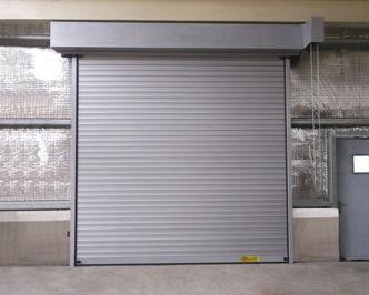Roll Up Door / Galvanized Steel / Industrial / Security