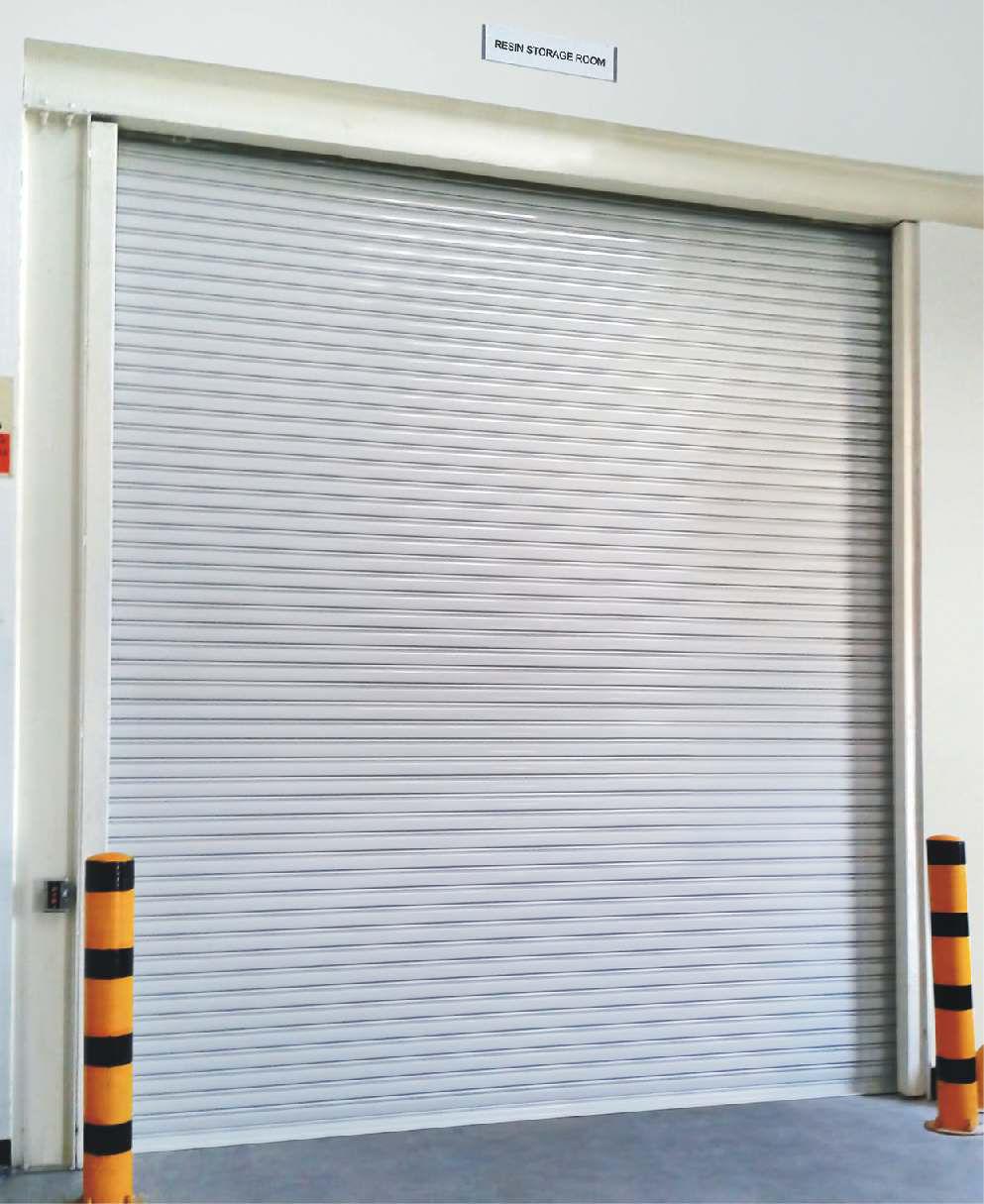 Roll Up Door / Stainless Steel / Galvanized Steel / Industrial