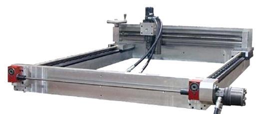 3 Axis Cnc Milling Machine Vertical Bridge