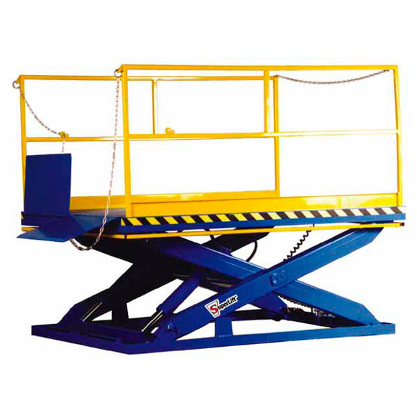 Loading dock lift table / scissor / hydraulic / stationary - SLD