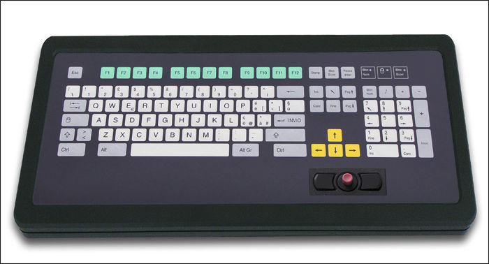 Desktop keyboard / 101-key / with other pointing device / PS2 - KT