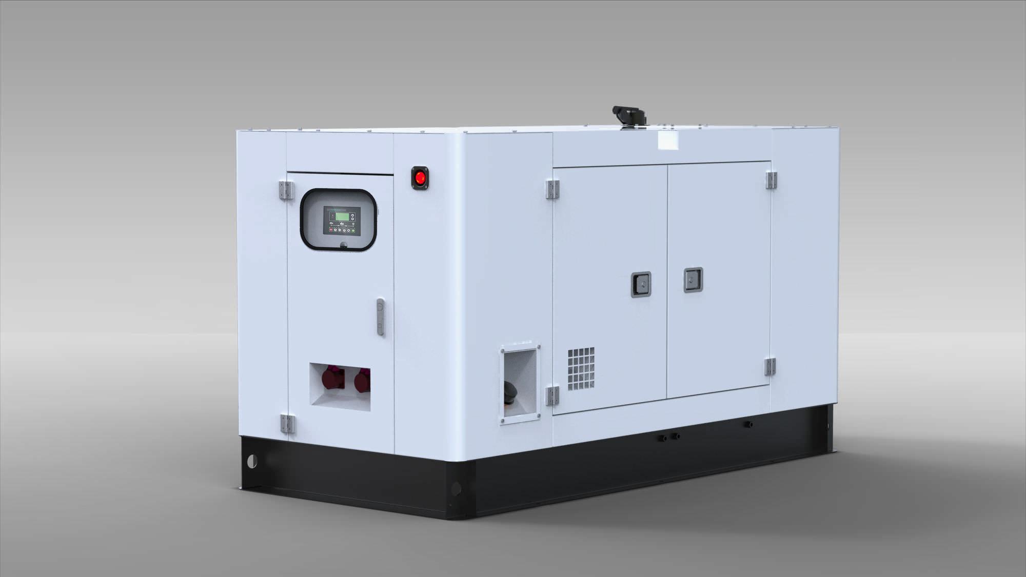 Three phase generator set sel water cooled YANAN KUBOTA