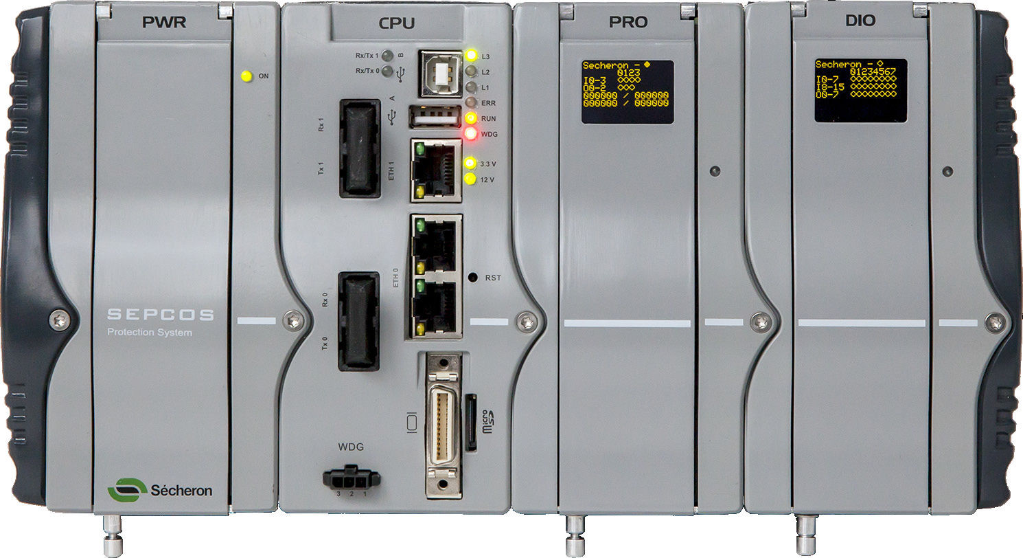 Power Protection Relay  DC  Programmable  Panelmount SEPCOS - Protection relays and circuit breakers