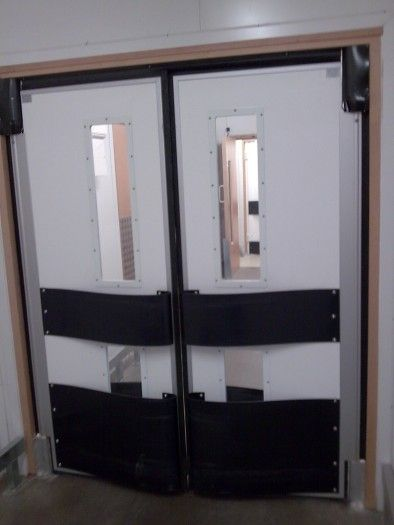 swing door / FRP / for hygienic applications / industrial - R series & Swing door / FRP / for hygienic applications / industrial - R series ...