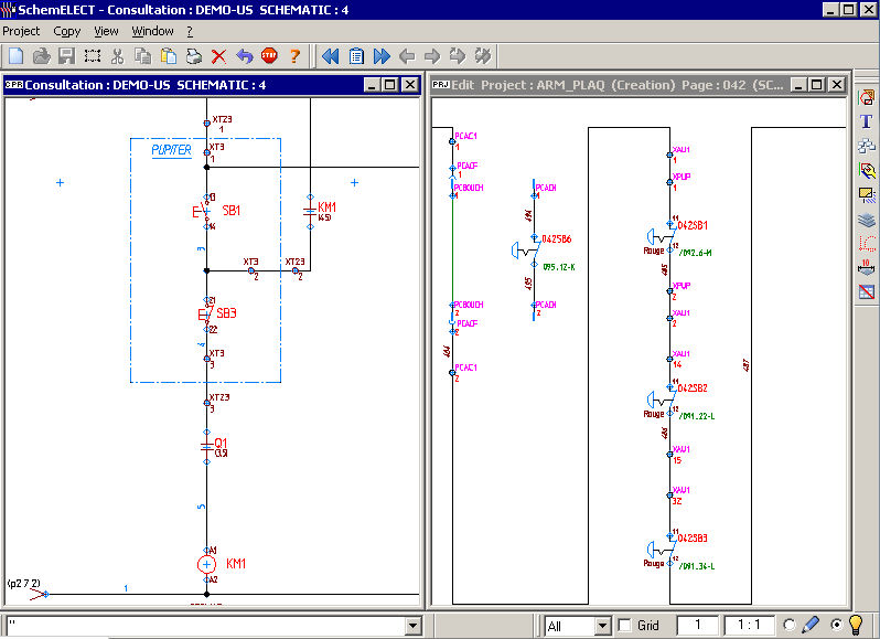 Electrical schematics software - SchemELECT - FTZ INFORMATIQUE
