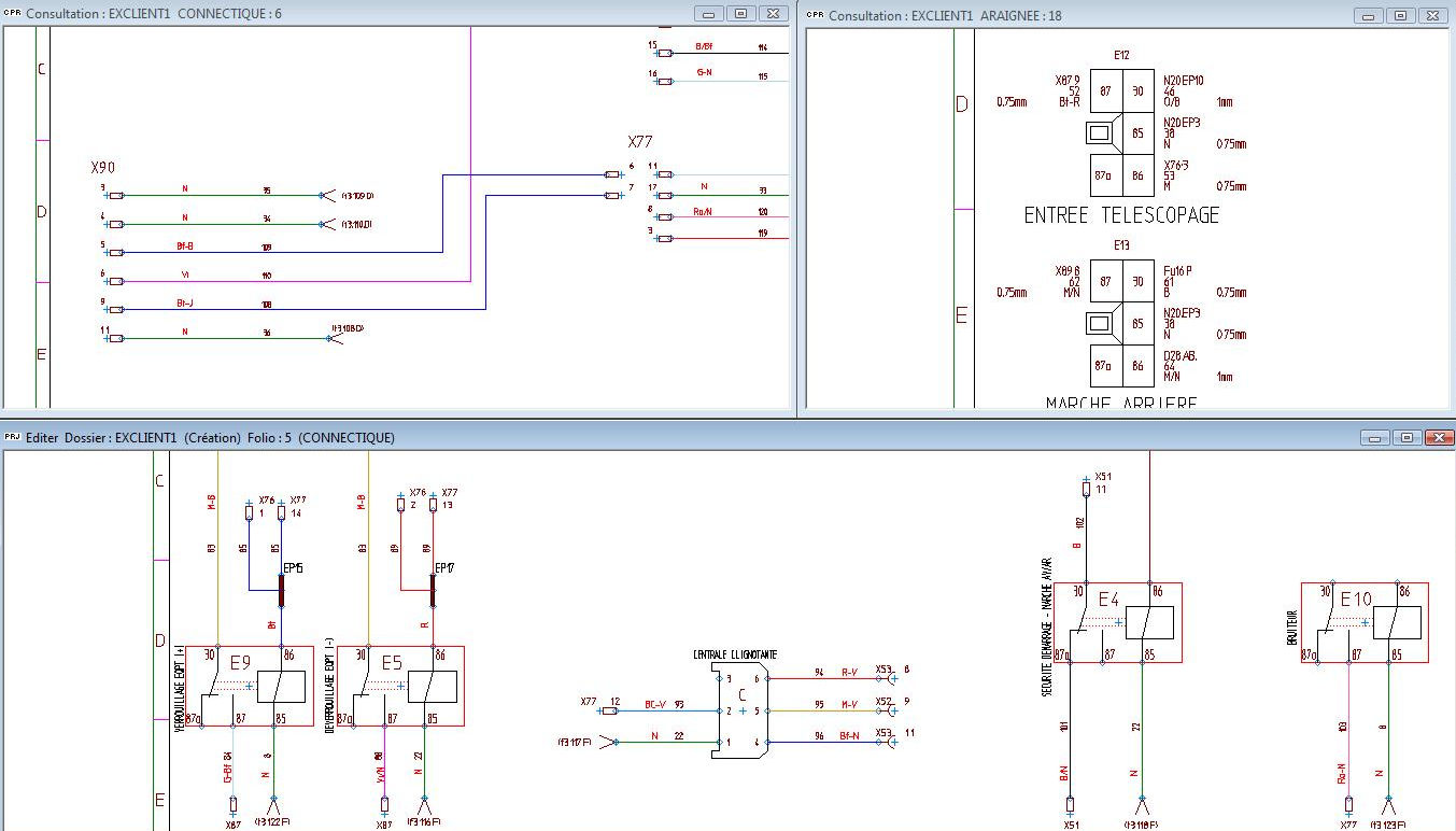 electrical cad software for wiring harnesses design schemharness rh directindustry com