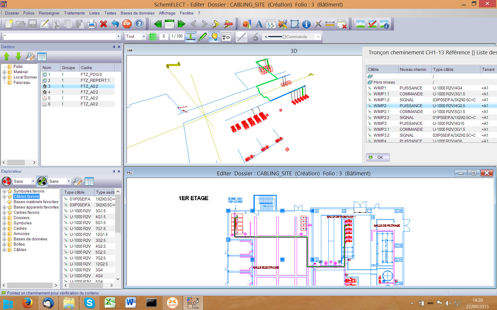 electrical CAD software / for wiring harnesses design - SchemCABLING