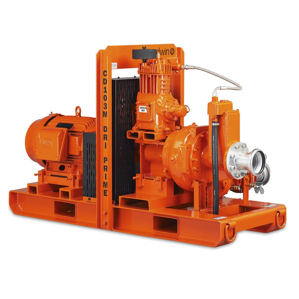 water pump / diesel engine / self-priming / centrifugal. CD103M Godwin Pumps