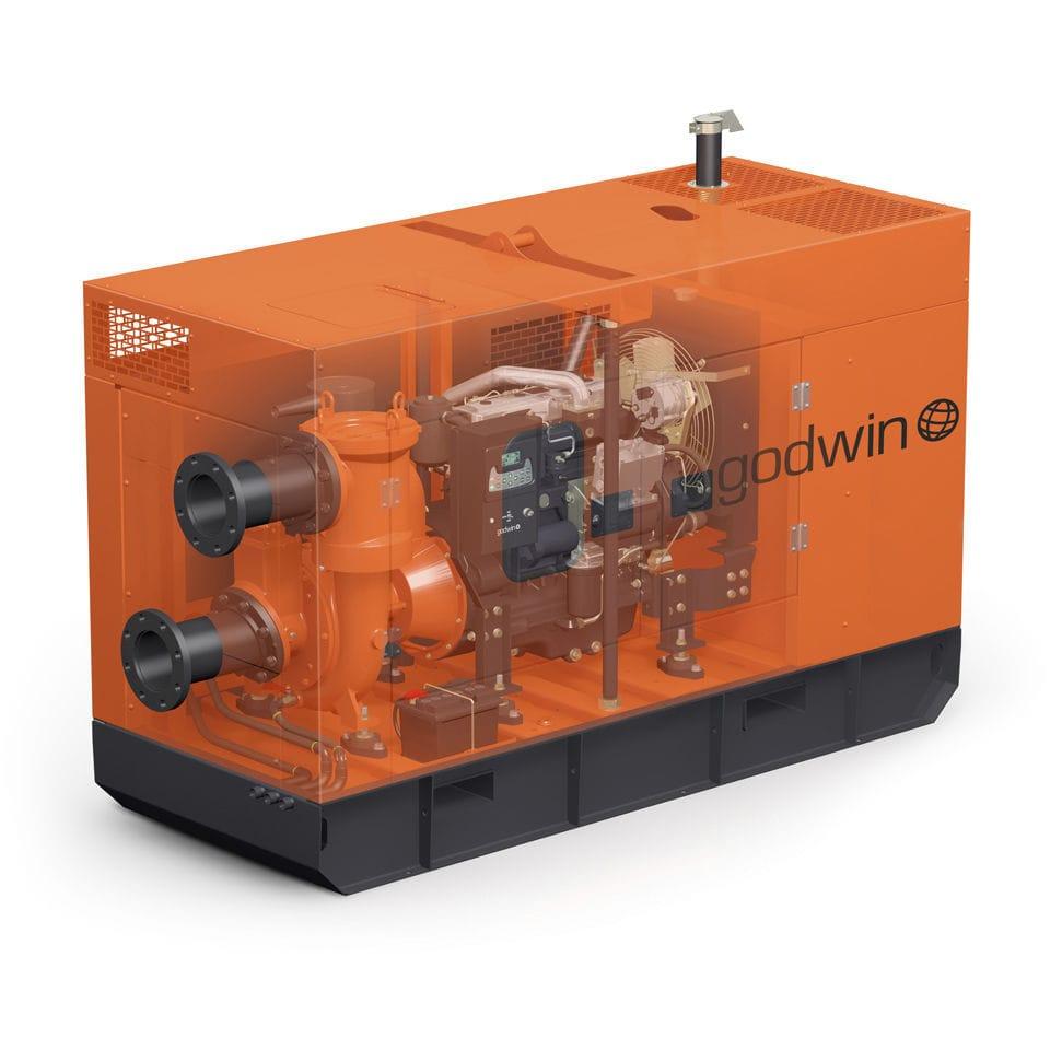 water pump / diesel engine / self-priming / centrifugal. CD150M Godwin Pumps