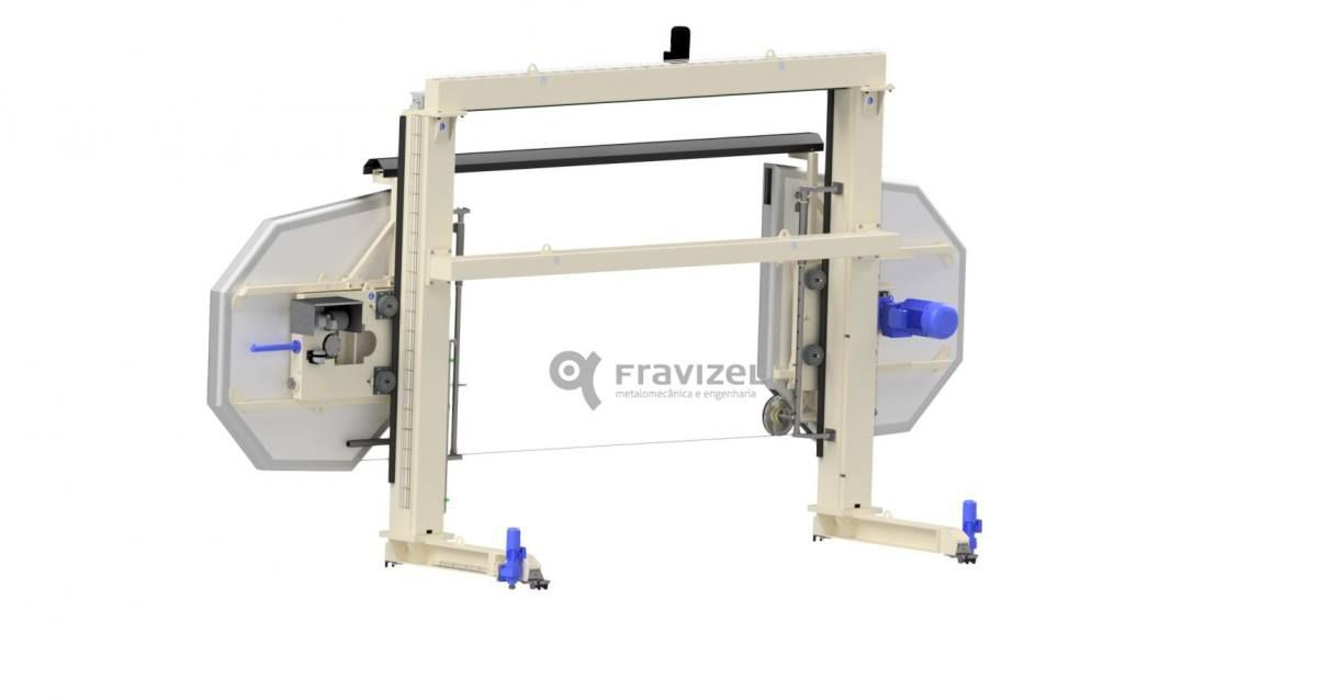 Diamond wire cutting machine / for stone - Fravizel, S.A.