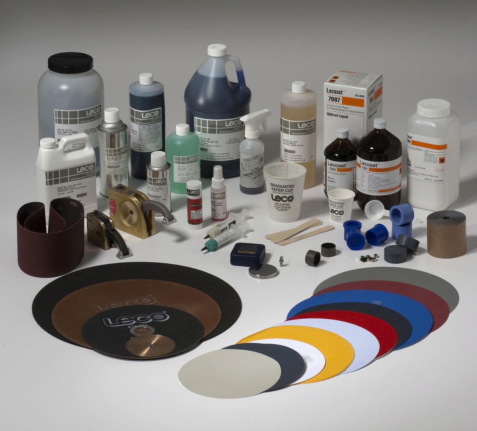 Sample preparation product / metallographic - LECO