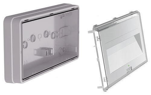 emergency lighting led outdoor wall mounted cristal wall