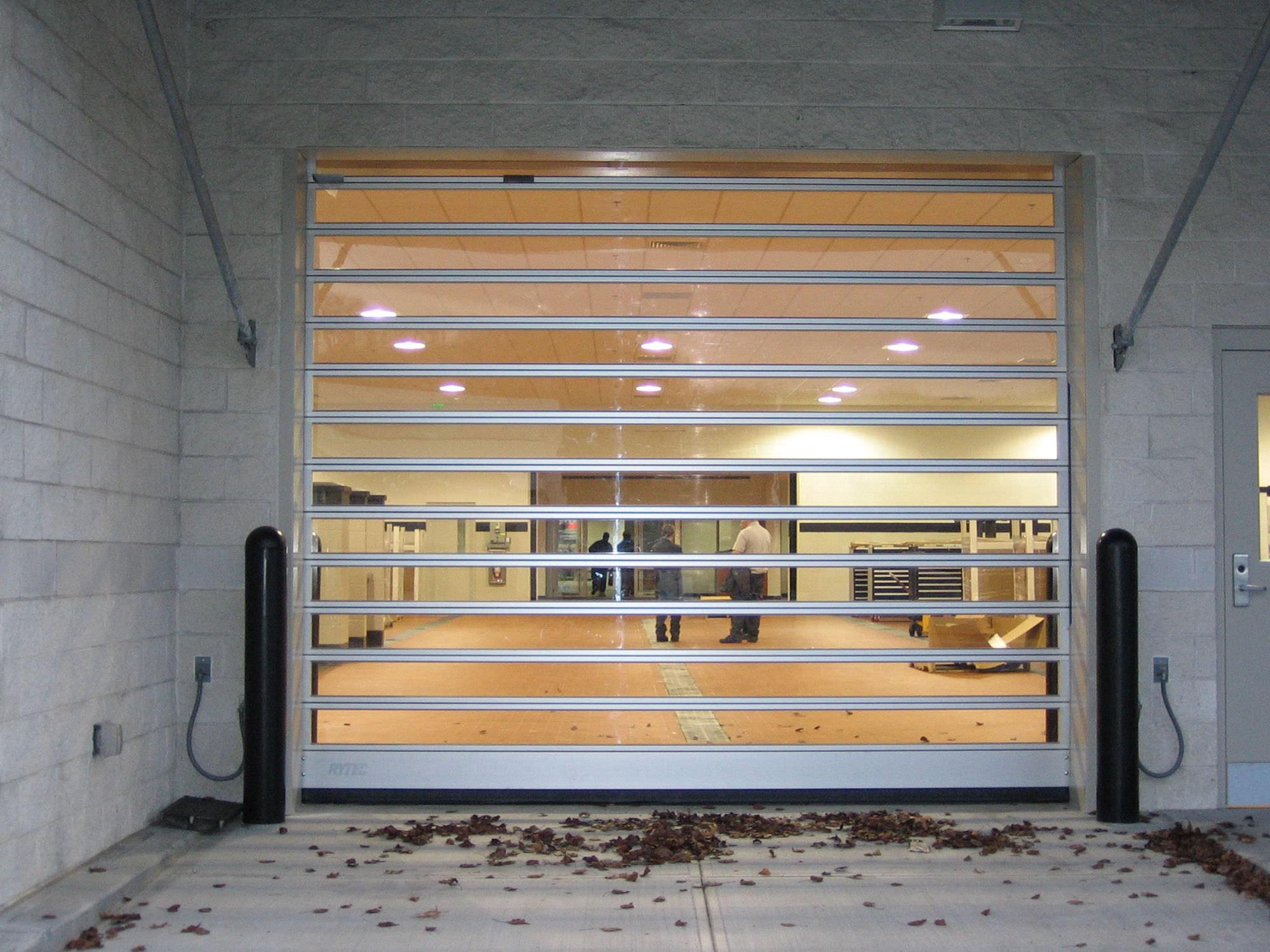 roll-up door / aluminum / industrial / design ... & Roll-up door / aluminum / industrial / design - Spiral® FV® - Rytec ...