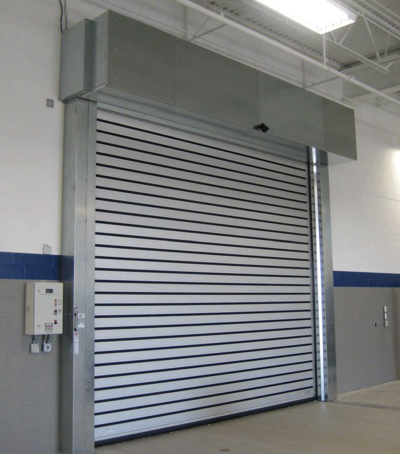 Roll-up Door / Aluminum / Industrial / Exterior - Spiral® HZ® & Rytec Door Distributor \u0026 Pharmaceutical Factory Washing Room Rytec ...