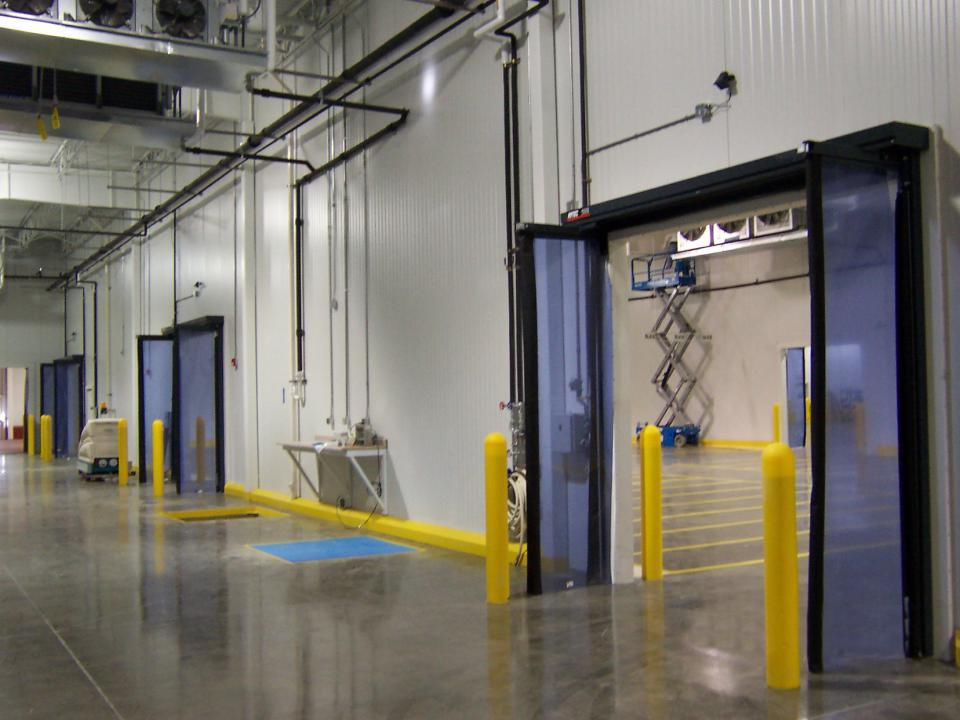 Folding Door / For Cold Storage Warehouses / Access   Fast Fold® Pneumatic