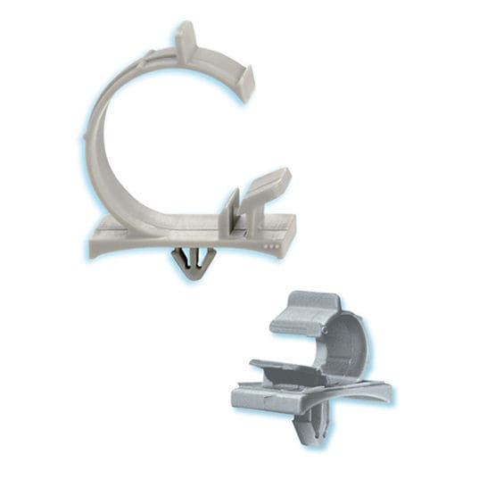 Cable clip / nylon / routing / snap-in - ø 0.187 - 1 in | HEYClip ...