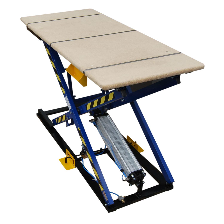 Beau Scissor Lift Table / Foot Operated / Pneumatic   ST 3