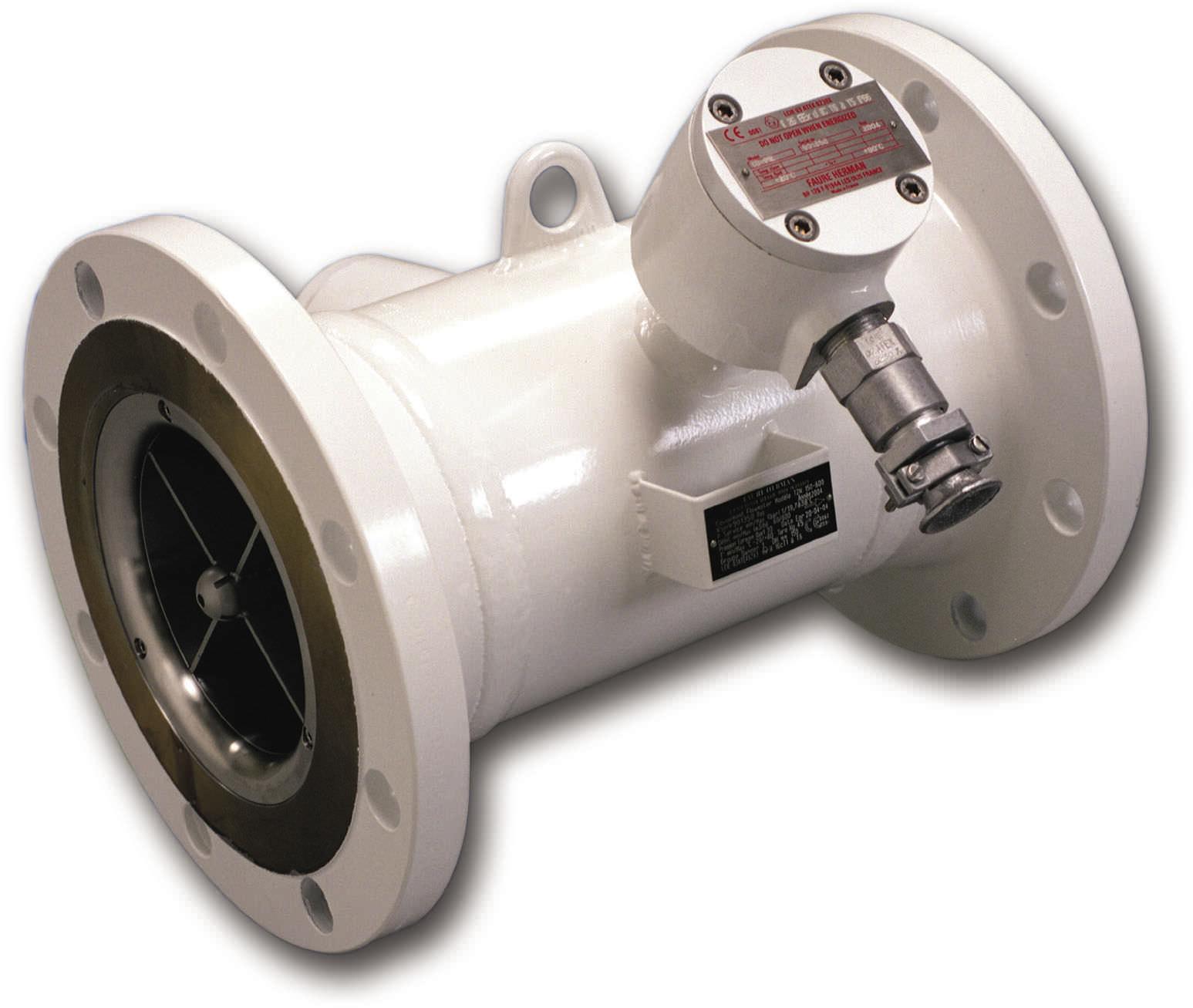 Turbine flow meter for liquids in line HELIFLU™ TZN FAURE