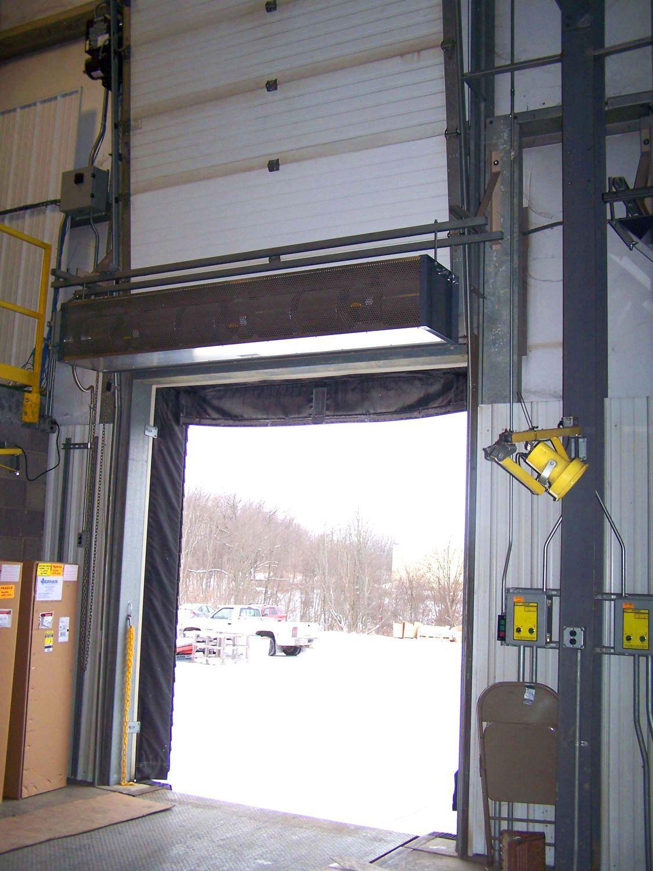 Ambient air curtain / horizontal / industrial door - IDC12 series ...