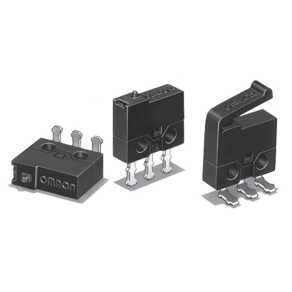 Lever Micro Switch Single Pole Snap Action Ultraminiature Microswitch