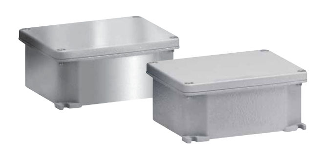 Wall mounted junction box ip66 aluminum gw connect series wall mounted junction box ip66 aluminum gw connect series sciox Choice Image