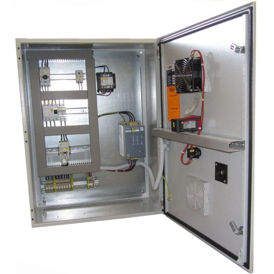 Power control panel / electric / digital - Resistencias Tope S.A.