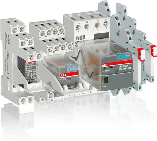 MOSFET solid state relay interface DIN rail R500 series ABB
