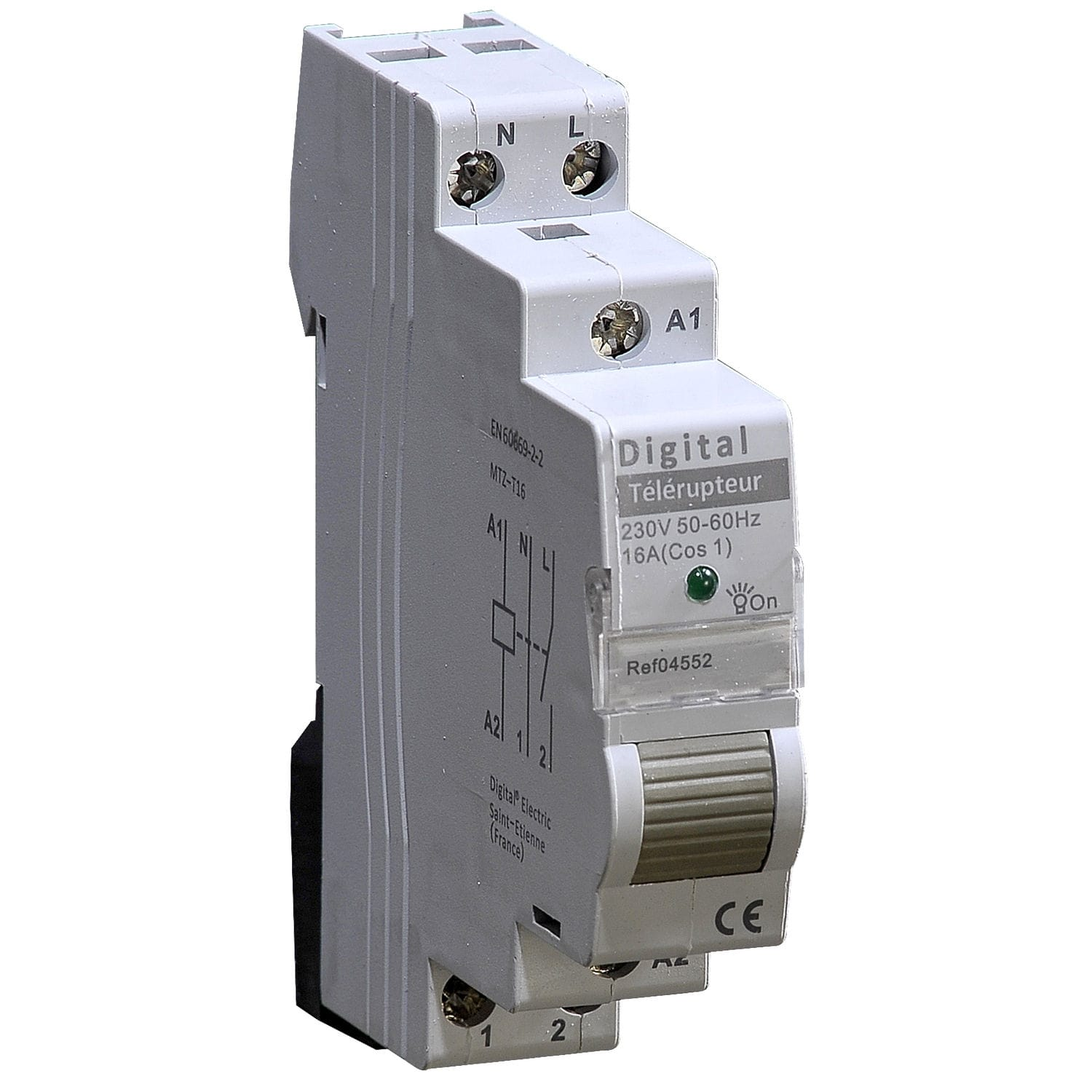 Electronic remote switch / modular / DIN rail - DIGITAL ELECTRIC