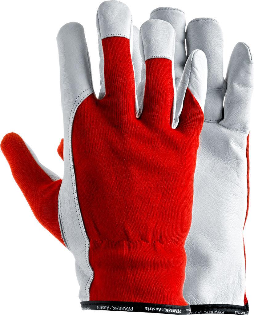 Goatskin leather work gloves - Handling Gloves Mechanical Protection Cotton Allround 100006