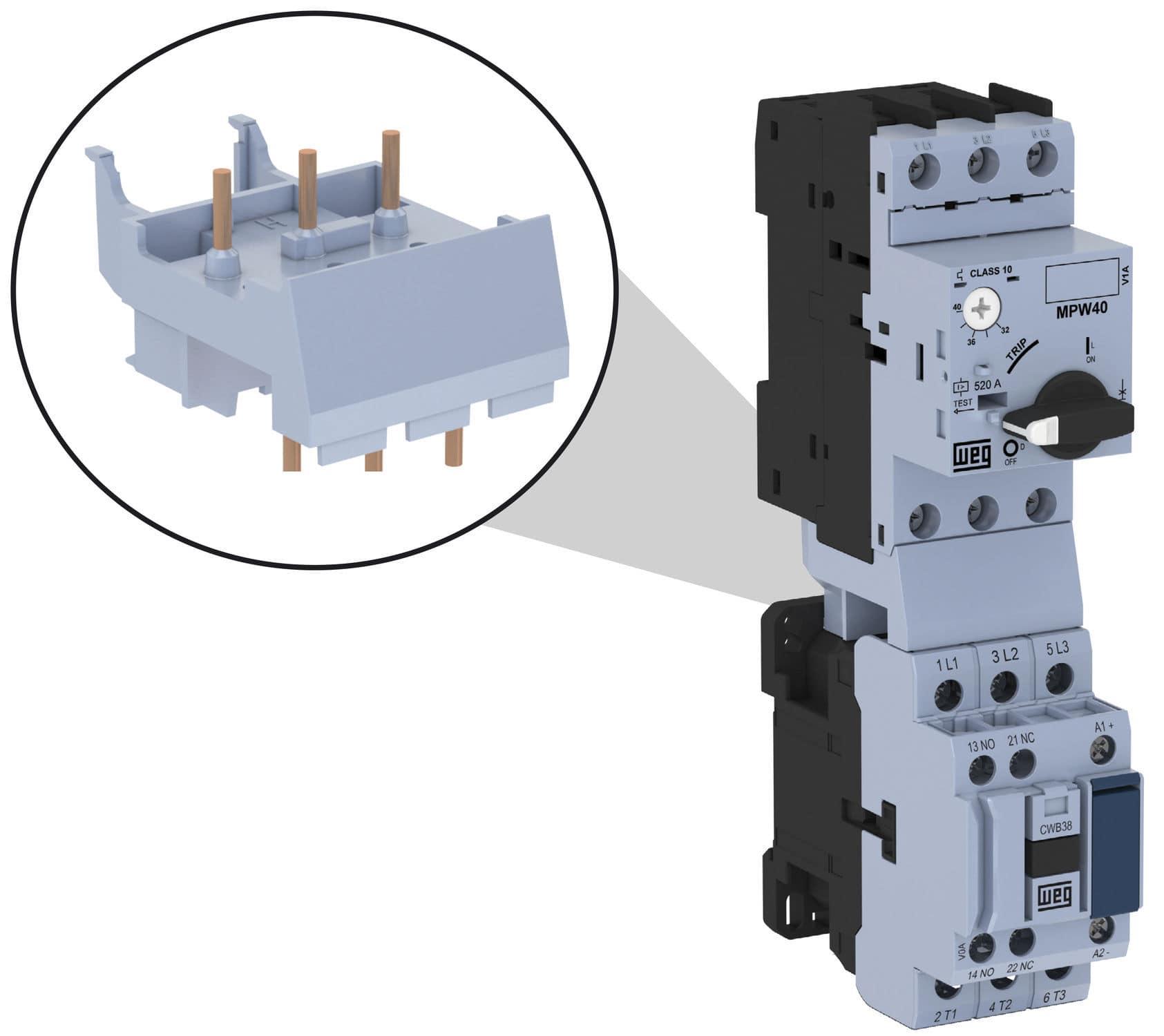 Thermal Circuit Breaker Short Modular Motor Protection Protector Wiring Diagram