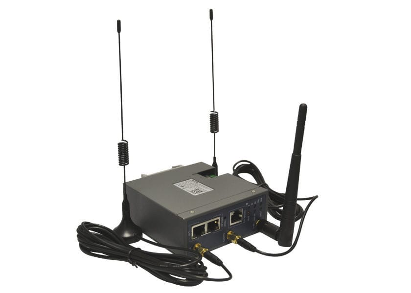 TDD LTE 4G communication router / dual SIM / GPS tracking / high