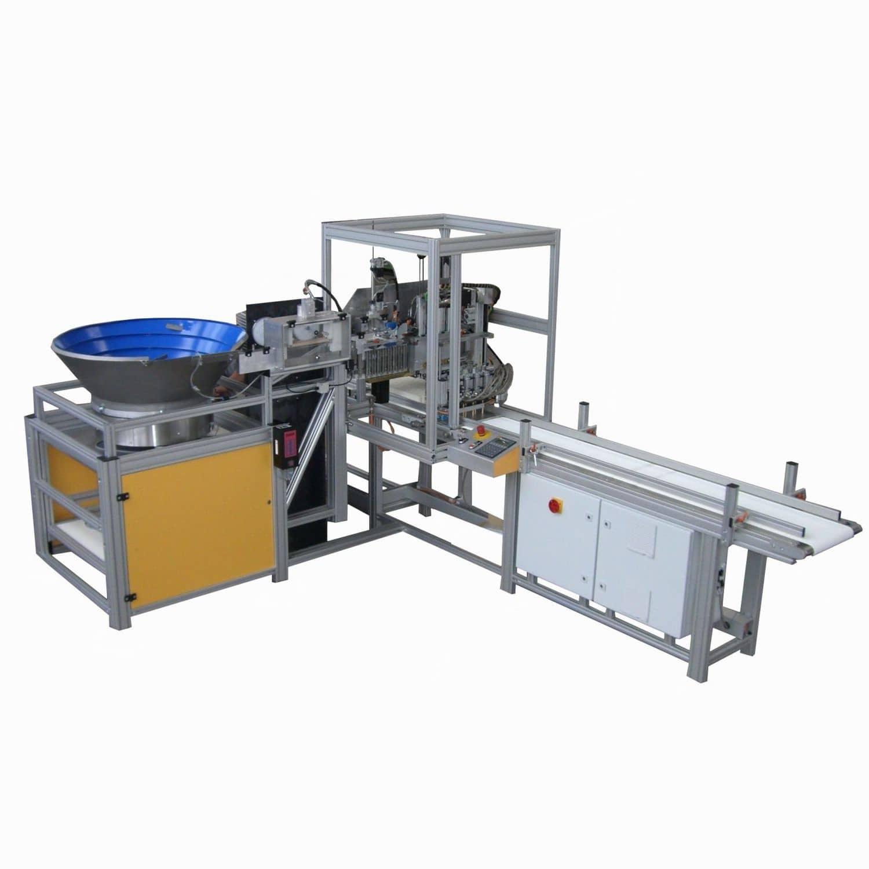 Automatic gluing machine MKL Wöhler Brush Tech