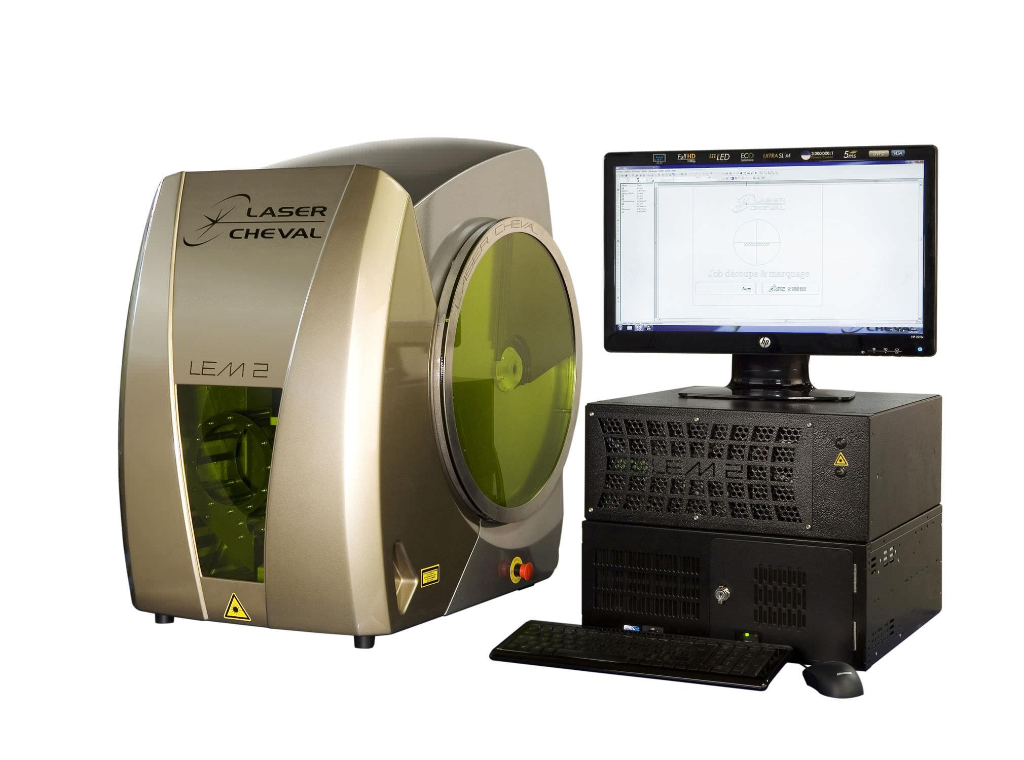 Laser marking machine / benchtop / for jewelery - LEM2 EMERAUDE ...