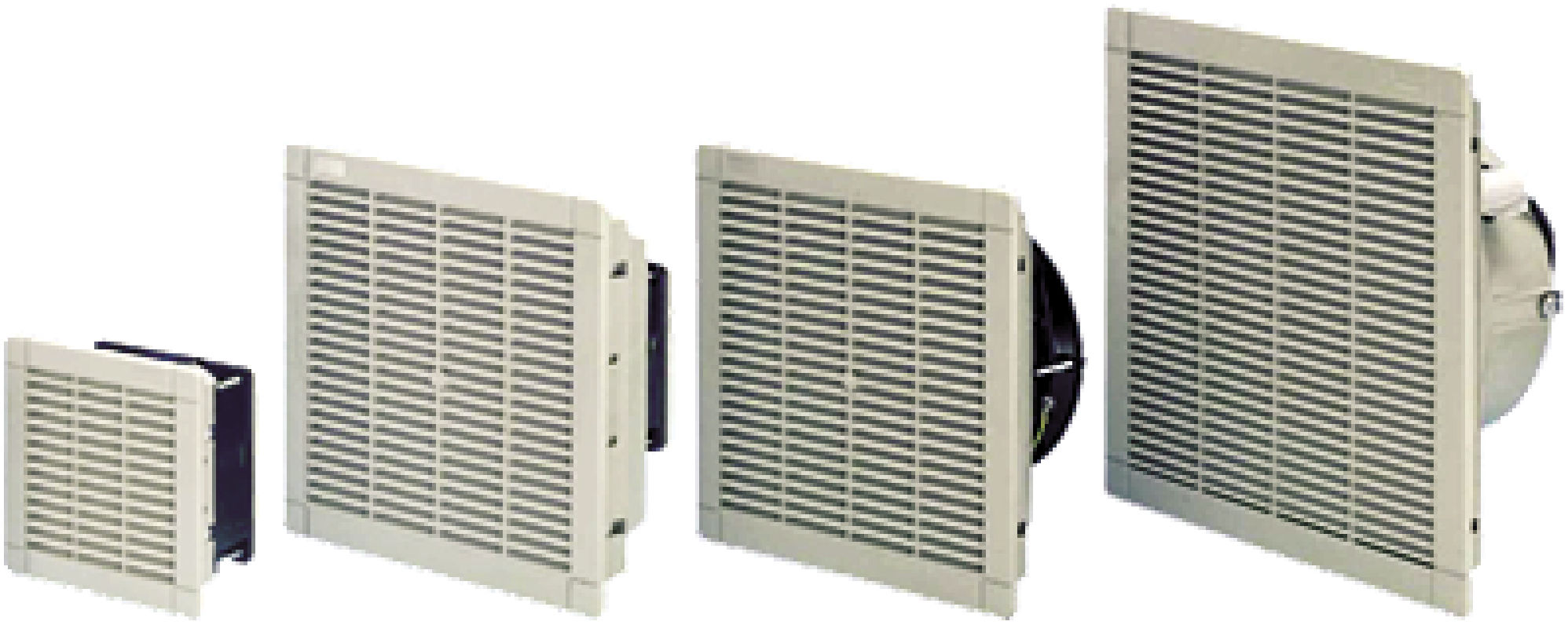 Electrical cabinet fan / axial / cooling / filter - KVA-KFA ...