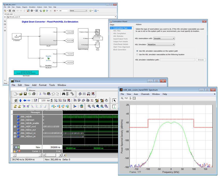 Design software / verification / FPGA HDL Verifier™ The MathWorks