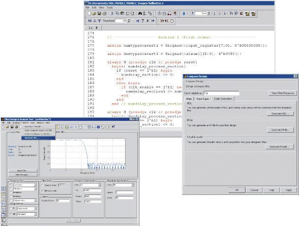 Simulation software / design / test / verification - Filter Design