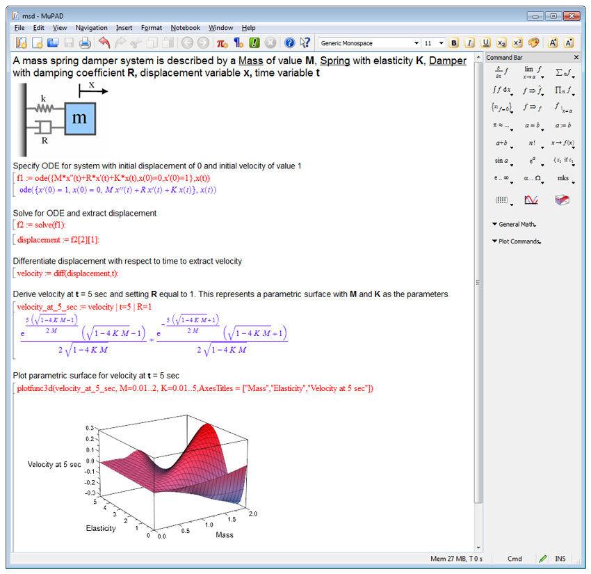 Optimization Software Mathematical Calculation Symbolic Math
