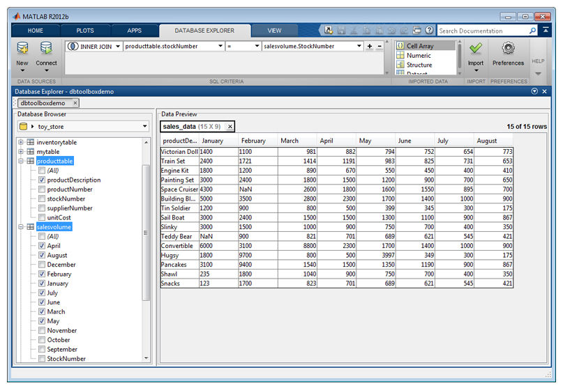 Toolbox™ Exchange Mathworks Data Software The - Database