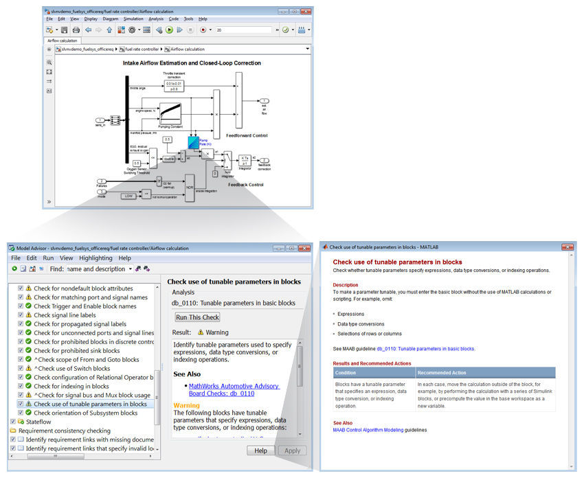 Measurement software / verification / engineering / modeling Simulink  Verification and Validation™ The MathWorks