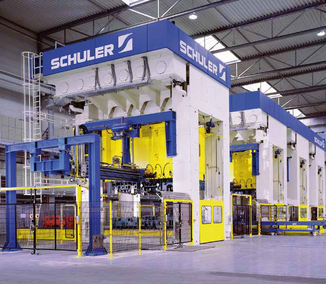 Hydraulic Press Line Forming Blank