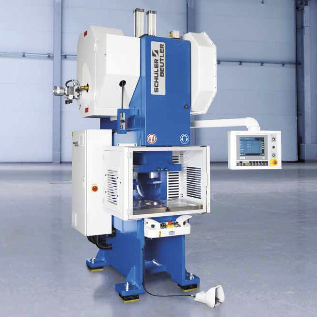 C-frame press / manual / for production / automatic - C-FLEXline ...