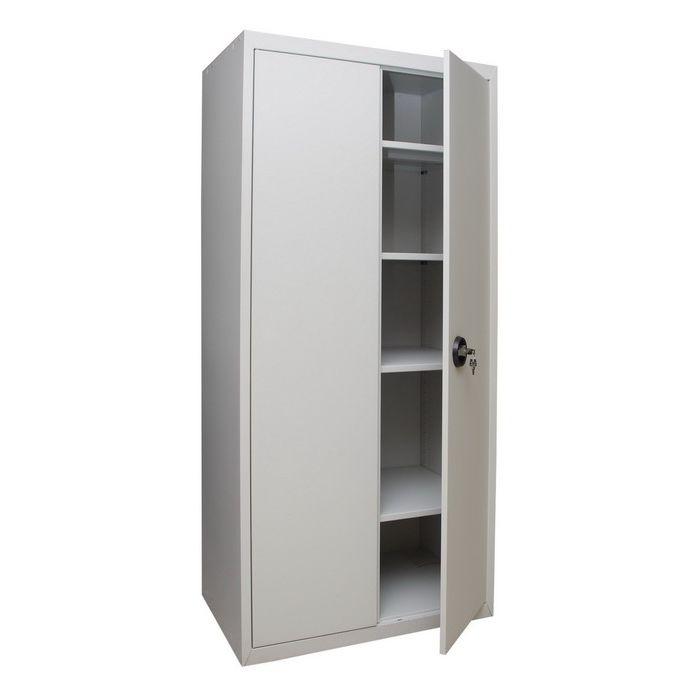 Office cabinet / floor-mounted / hinged door / steel - PJSC UHL-MASH