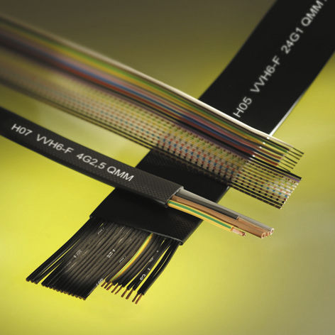 DIN electrical cable / oil-resistant / flat / flexible - HELUKABEL
