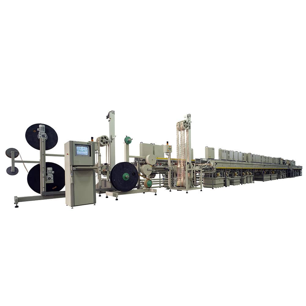 Lead frame plating line - Meco RTR Ag - BE Semiconductor Industries