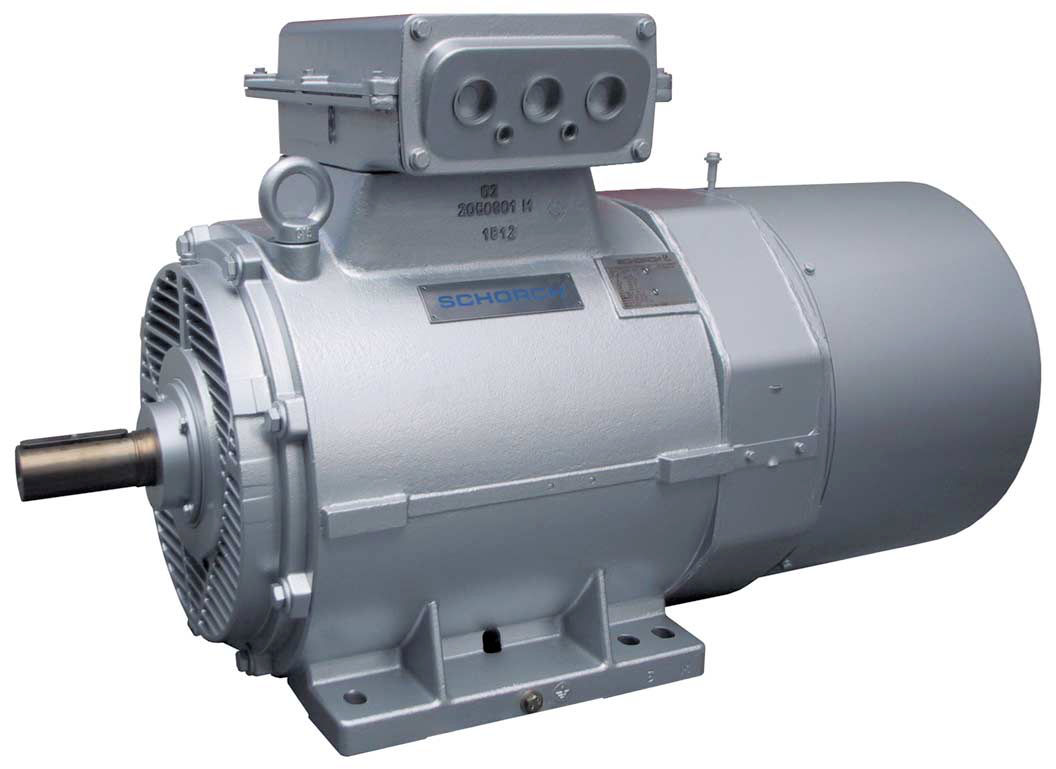 AC motor / three-phase / asynchronous / 400 V - Schorch
