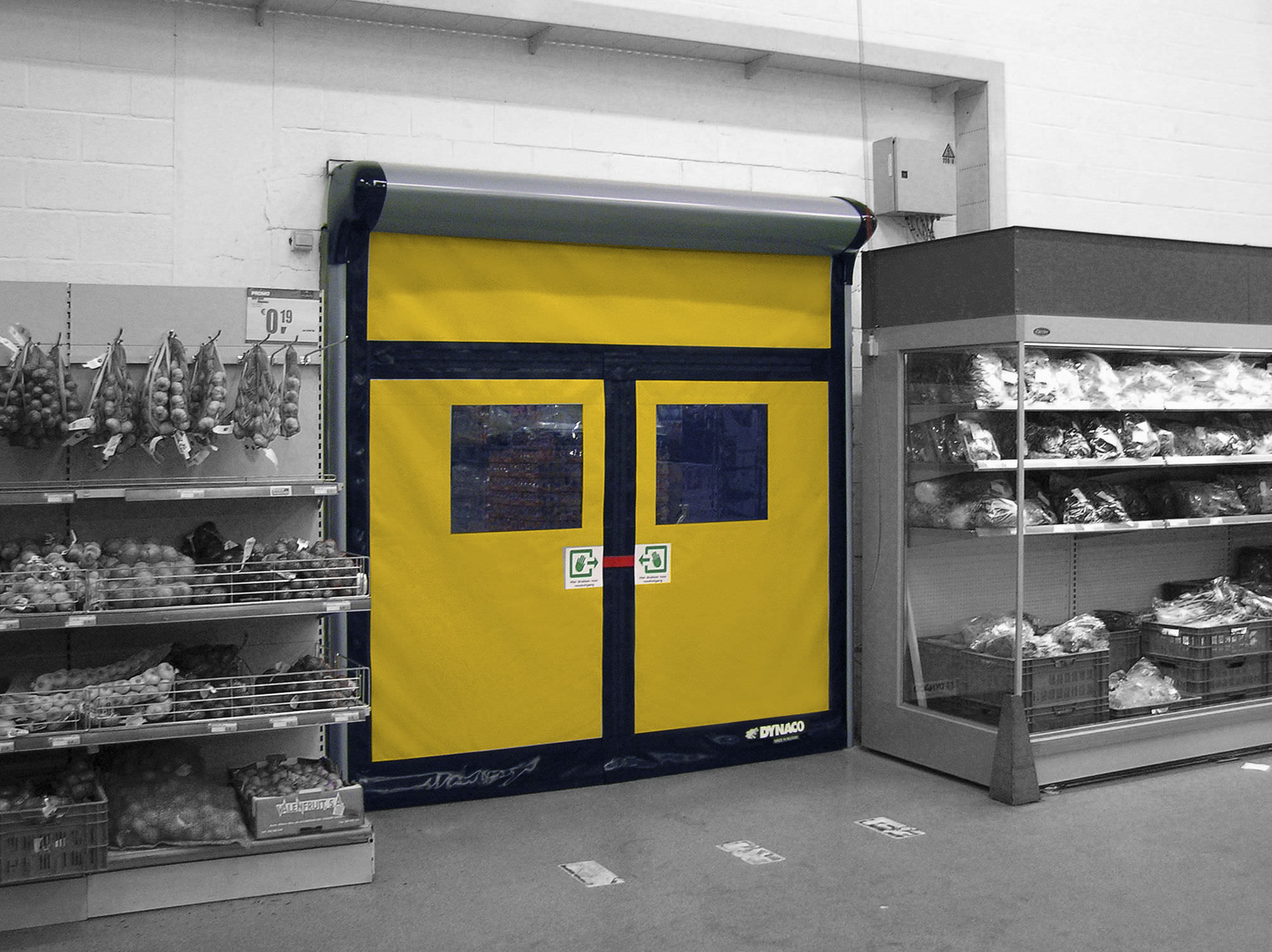 ... Roll-up doors / PVC / industrial / with emergency exit function D-313 ... & Roll-up doors / PVC / industrial / with emergency exit function ...