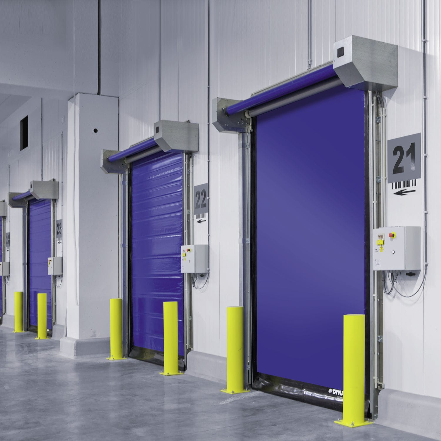 roll-up door / for cold storage / industrial / high-speed - M2 & Roll-up door / for cold storage / industrial / high-speed - M2 ...