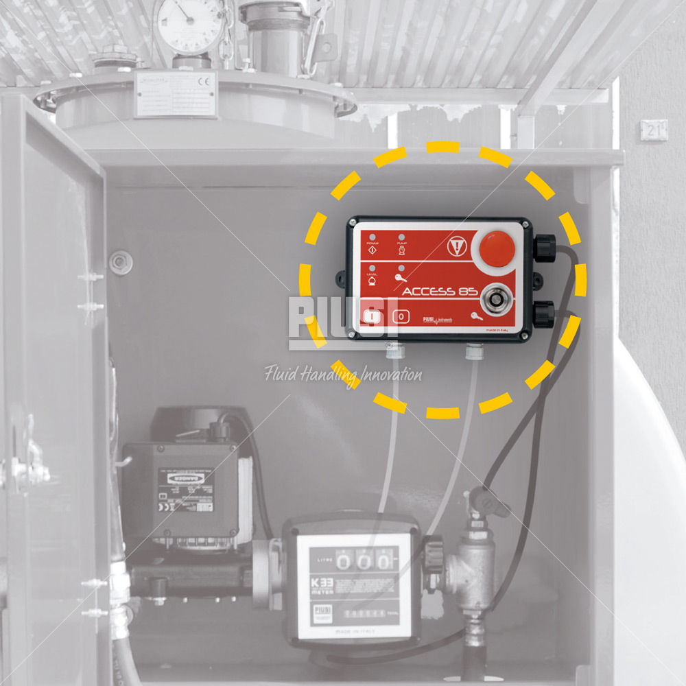 Pump Station Controller Access 85 Piusi Spa Electrical Wiring